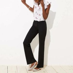 LOFT Marisa bootcut black trousers 4p